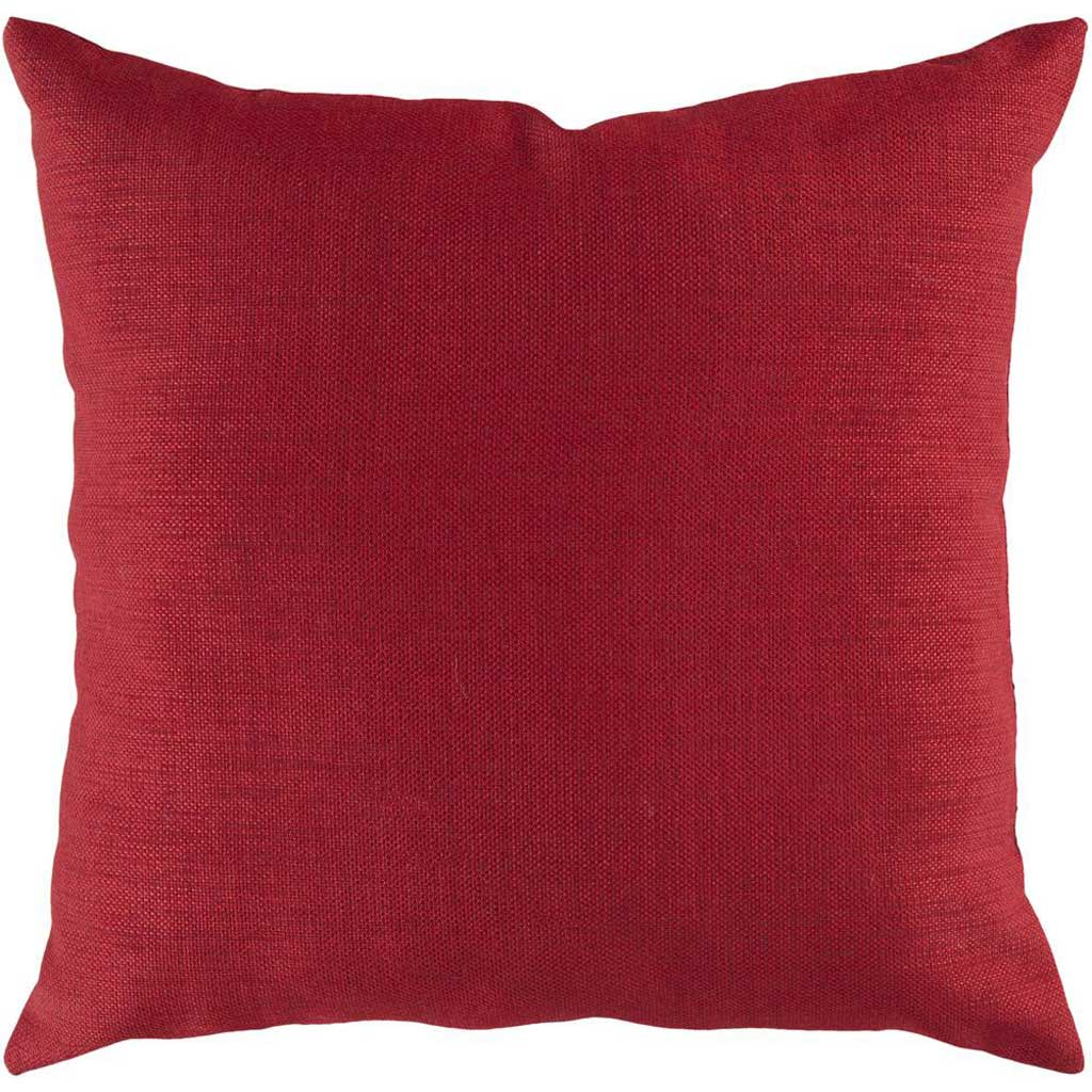 Stunning Solid Cover Rust Pillow