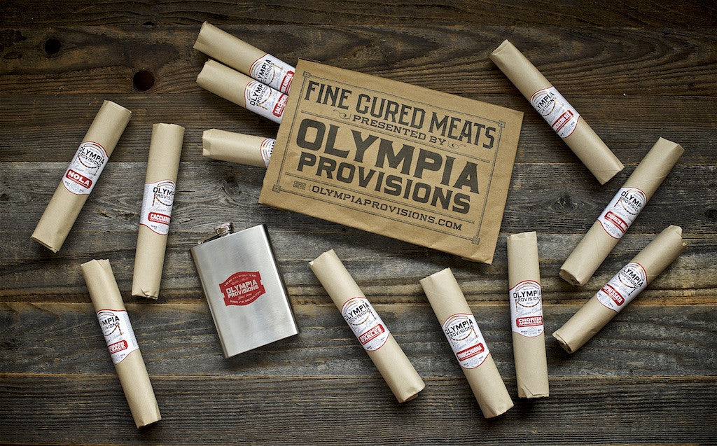 Salami of the Month Club & Flask