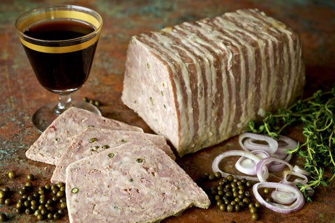Party Size Green Peppercorn Pate