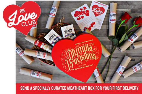 Love Club with Meatheart Giftbox: Gift 12 Month Salami Postal Provisions