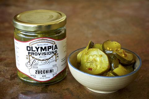Bread & Butter Zucchini Pickles