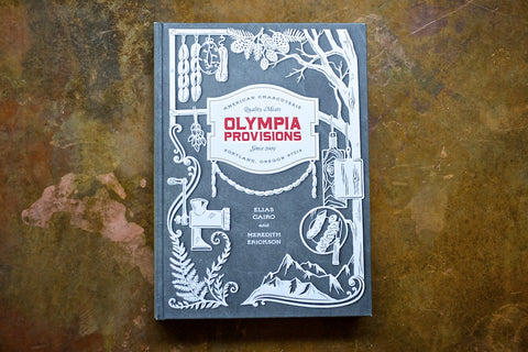 Olympia Provisions Cookbook with a Free Salami