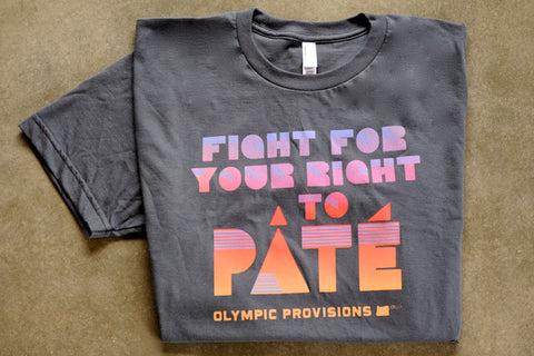 """Fight For Your Right To Pâté"" T-Shirt"