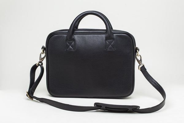 The Charles Briefcase - Coal