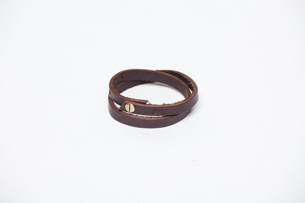 a basic bracelet - chocolate
