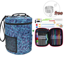 Load image into Gallery viewer, Mix 22pcs Crochet Hooks Set With Yarn Storage Bag Organizer Women Home Knitting Needles Hook DIY Craft Sewing Tool with Yarn Bag