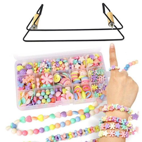 DIY Wood Weaving Beading Loom Kit Bracelet Jewelry Handmade Knitting Tool DIY Handmade Knitting Machine Handmade Knitting Tool