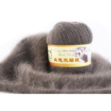 Load image into Gallery viewer, 31 Colors 50g soft mink velvet wool hand-knitted luxury long-wool cashmere Crochet knitted yarn High-quality for autumn winter