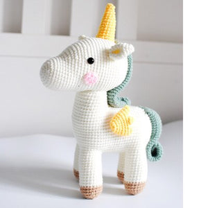 Crochet Unicorns for boy or girl