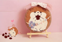 Load image into Gallery viewer, Cute Animal DIY Punch Needle Embroidery Kit