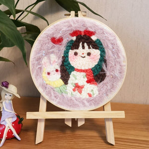Cross Stitch for Beginner Handmade Embroidery Home Decor