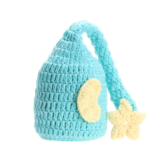 2017 Lovely Warm New Newborn Baby Girls Boys Crochet Knited Hat Photography Prop Beanie Cap Photo Festival Gift