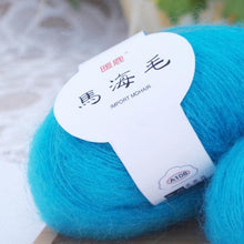 Load image into Gallery viewer, Soft Mohair Cashmere Knitting Wool Yarn DIY Shawl Scarf Crochet Thread Supplies