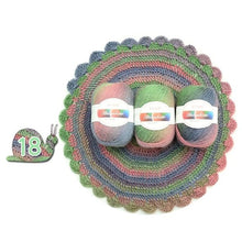 Load image into Gallery viewer, Soft Worsted Yarn Rainbow Gradient Colors DIY Baby Knitting Wool Shawl Scarf Sweater Crochet Thread Supplies