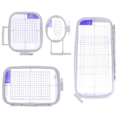 Multi Function Embroidery Machine Hoop Set Craft Cross Stitch Needlework Sewing Hoop Frame for Brother PC 6500 8200 8500