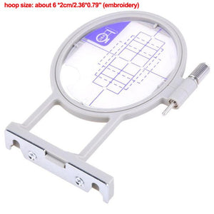 Embroidery Frame Craft Cross Stitch Needlework Sewing Hoop Sewing Craft Accessories Embroidery Machine Hoop Set  for Brothers