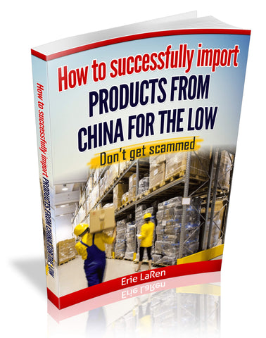 How to successfully import items from china for the low