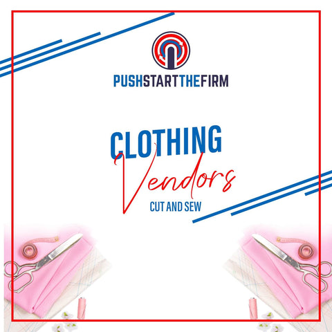 Clothing Vendor Cut and Sew