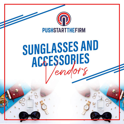 Sunglasses handbags cell phone accessories and jewelry vendors