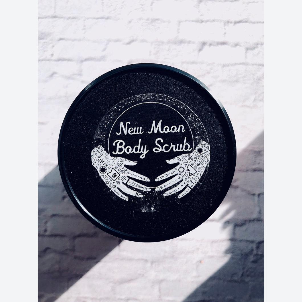 New Moon Scrub