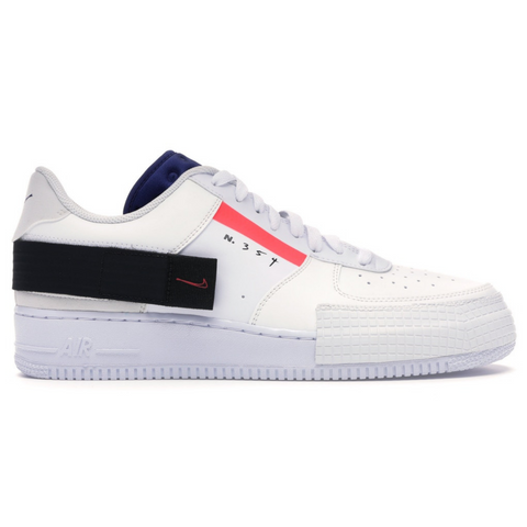 NIKE AIR FORCE 1 TYPE WHITE