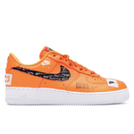 NIKE AIR FORCE 1 LOW JUST DO IT ORANGE
