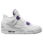 NIKE JORDAN 4 RETRO METALLIC PURPLE