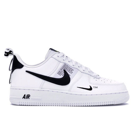 NIKE AIR FORCE 1 LOW UTILITY WHITE BLACK