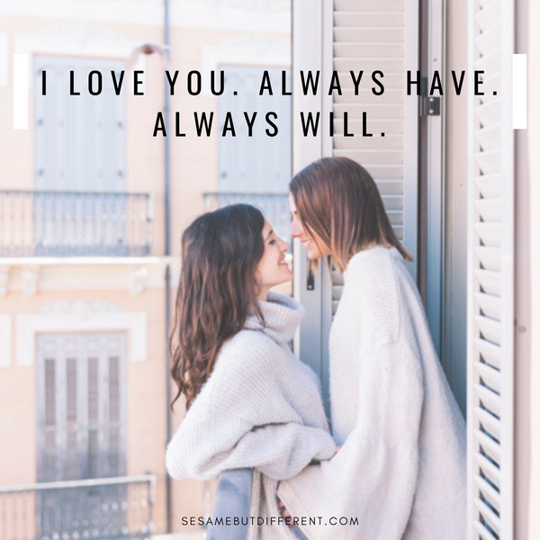 Best Romantic Lesbian Love Quotes and Cute LGBTQ Love Sayings