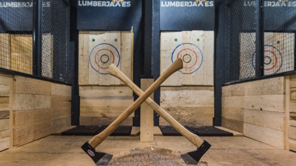 Best Romantic Lesbian Date Night and Gift Ideas for Your Girlfriend Axe Throwing