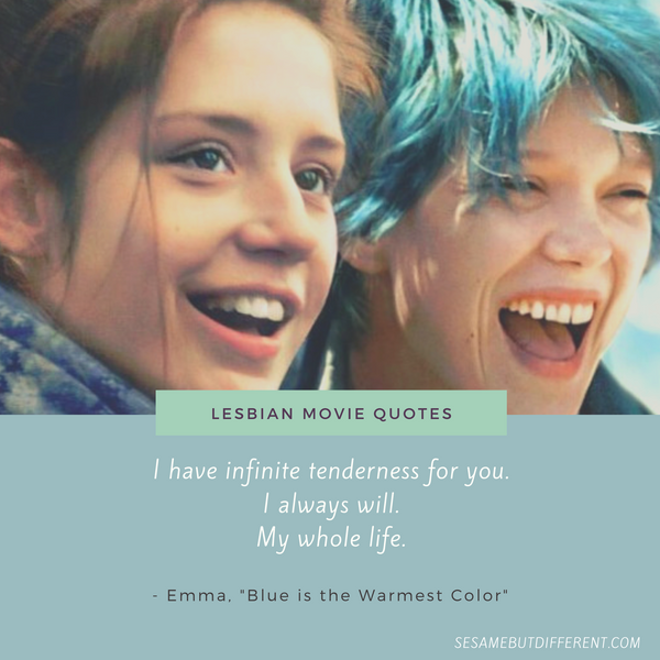 Best Lesbian Movie Quotes from Blue is the Warmest Color