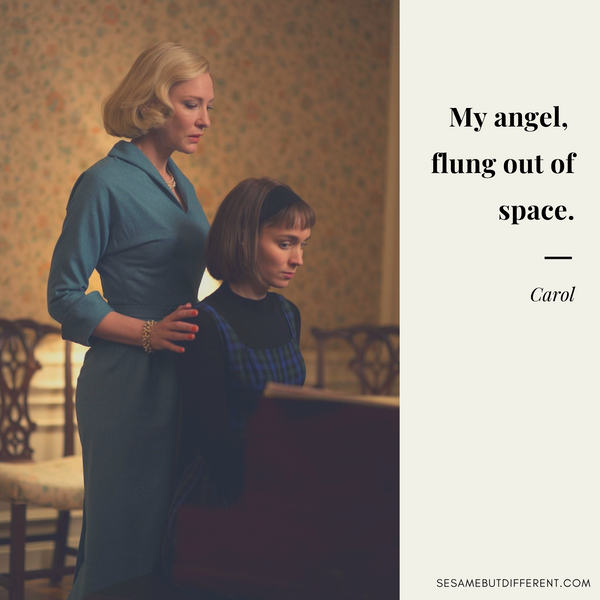 Best Lesbian Movie Quotes from Carol