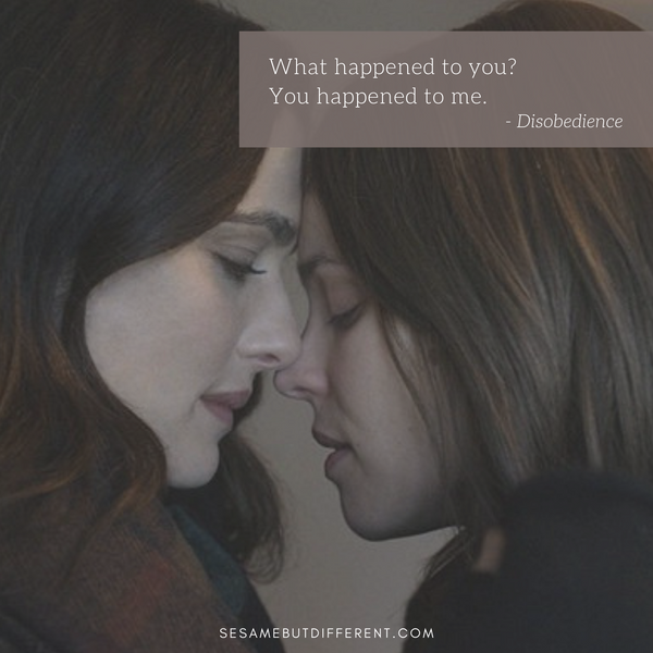 Best Lesbian Movie Quotes from Disobedience