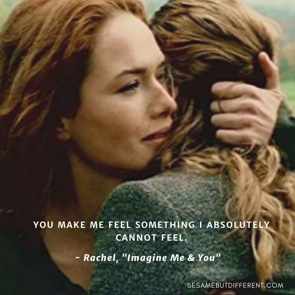 Best Lesbian Movie Quotes from Imagine Me and You