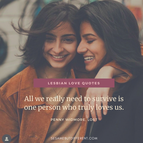 Best Lesbian Love Quotes and Sayings