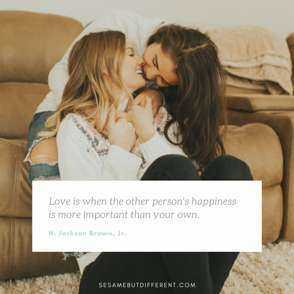 Romantic Lesbian Love Quotes and Love Sayings