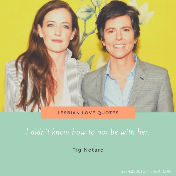 Cutest Lesbian Love Quotes and Sayings