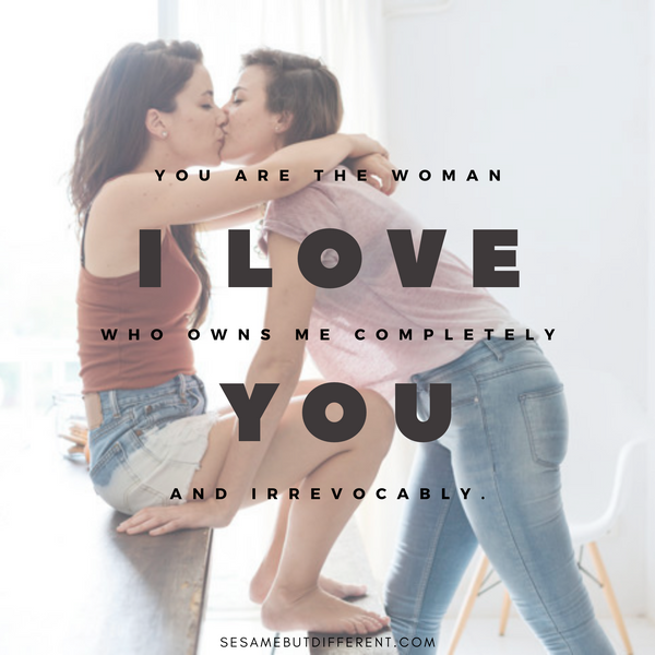 Lesbian Love Quotes and Sayings
