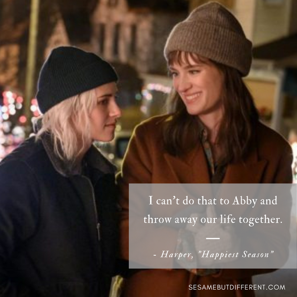 Happiest Season Best Movie Quotes from Harper