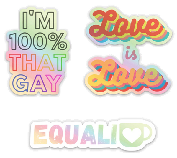 LGBTQ stickers best holiday gift ideas