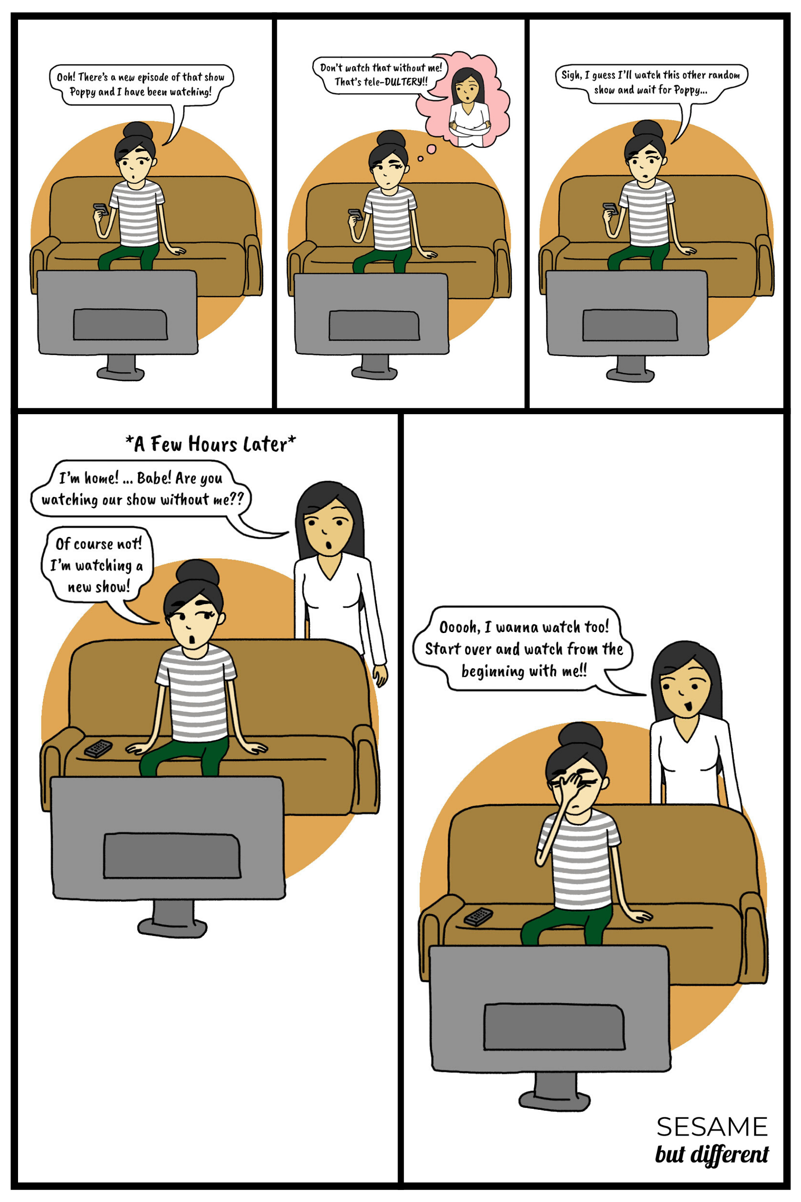 Sesame-But-Different-Teledultery-TV-show-adultery-with-my-lesbian-girlfriend-funny-lesbian-webcomic