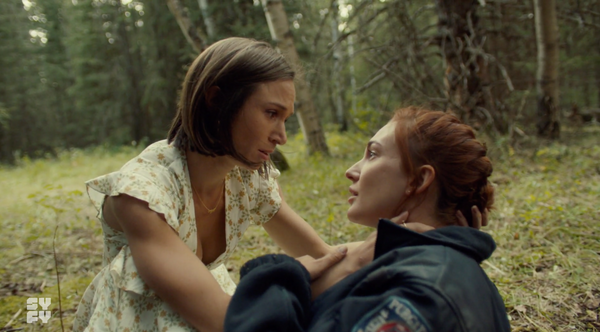 Nicole sacrifices herself for Waverly cutest Wayhaught moments