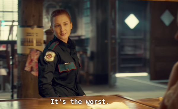 Wayhaught Season One Scene When They First Met