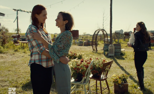 I can't wait to be your wife waverly and nicole wynonna earp