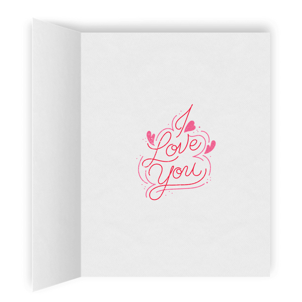 Hey Little Darling | Lesbian LGBTQ Greeting Card | Romantic I Love You Greeting Card