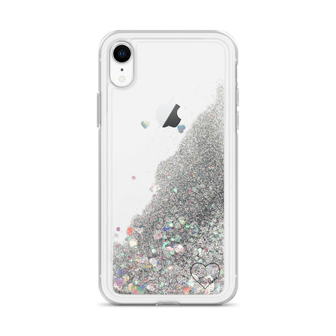 LGBTQ Love | Liquid Glitter iPhone Case