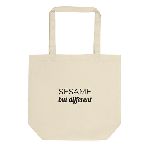 Sesame But Different | Eco-friendly Cotton Tote Bag | LGBTQ