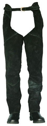 Suede Leather Full Chaps
