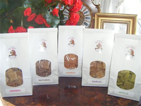 Big Red's Stable Snacks - Biscotti Bags