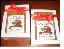 Big Red's Stable Snacks - White Gift Box